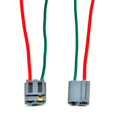 2X HEI Distributor Wire Harness Pigtail - Dual 12v Power and Tach Connector Hei Distributor Wiring Harness on