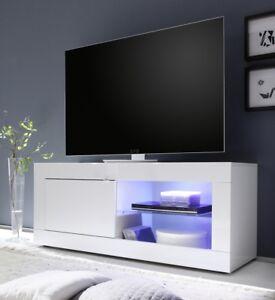 Mobile Porta Tv Wenge.Dettagli Su Mobile Porta Tv L 140 Soggiorno Bianco Lucido Legno Wenge Moderna Stand 01