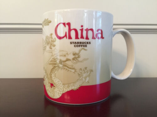 Starbucks China Global Icon Collector Series City Mug 16 Fl Oz - Brand New