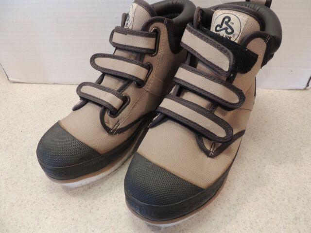 9 Tan US Pro Line Men/'s W295D Nylon Wading Boots with Felt Outsole