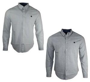 Mens-Springfield-Long-Sleeves-100-Cotton-Summer-Casual-Holiday-Shirt-Tops