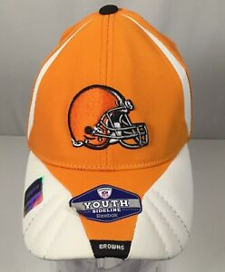7fbc26be Cleveland Browns Reebok Authentic Sideline Equipment NFL Hat Cap ...