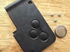 RENAULT LAGUNA MEGANE SCENIC CLIO REMOTE KEY CARD FOB FULL REPAIR KIT