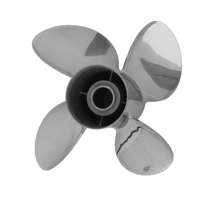 SOLAS Propeller Edelstahl 13,25 13,25 Edelstahl x 15 Zoll für Mercury 40 bis 140 PS 2ab479