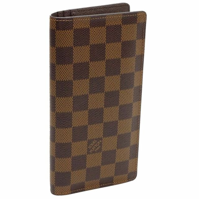 Louis Vuitton Damier Portefeuille Brazza Wallet N60017 Tn4125   eBay 58a663e1605