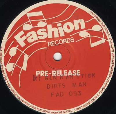 """fashion 12"""":DIRTSMAN-mi gun nah stick  (hear)"""