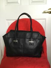 bd9bff08e6 COACH Taylor Leather Alexis Carryall Tote Shopper G1320-F25205 Black
