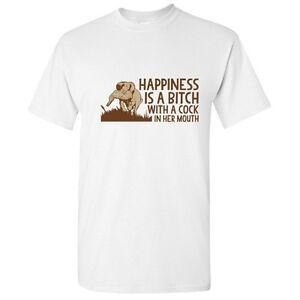 Happiness-Hunting-Hunter-Offensive-Adult-Graphic-Gift-Funny-Novelty-T-Shirt