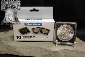 10-Gold-Commemorative-50-Coin-Snap-Capsule-40mm-QUADRUM-2x2