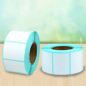 Waterproof Blank White Thermal Labels Roll(1000pcs