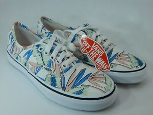 Dettagli su Vans Authentic Tropical foglie Taglia US 8.5 EU 39 Donna Scarpe Sneaker Skate- mostra il titolo originale