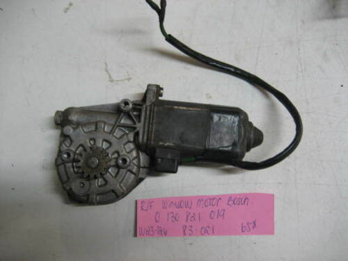 MercedesBenz W123 240D W126 300SD right front window motor bosch 0 130 821 019