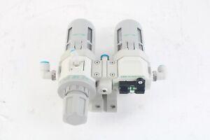 CKD W4000-15-W-FL41081 Filter Regulator w/ M4000-15-W-FL41082 regulator