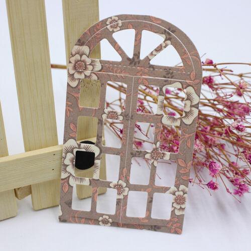 Window Frame Metal Cutting Dies Stencil Scrapbooking Embossing Card Paper Craft