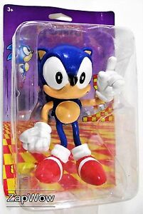 SONIC-THE-HEDGEHOG-1991-FLEXI-FRIEND-Bendy-Toy-Figure-1990s-SEGA-Vintage-Tomy