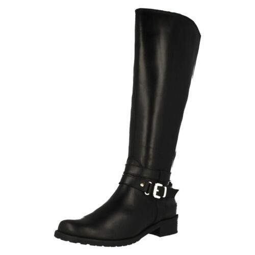Nessa Black Ladies Riding 'abbey' Style Clarks Boots qIIrTw