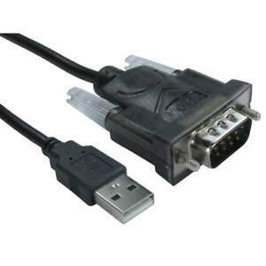 1-2-M-USB-Type-A-Male-to-9-Pin-Serial-rs-232-rs232-Adapteur-Converter-Cable-Lead
