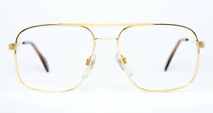 MENRAD-Vintage-Original-Brille-Eyeglasses-Occhiali-Gafas-8430-43-18Kt-Gold-Bril