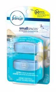 Febreze Small Spaces Air Freshener Refills Bora Bora -2 In Pack-odor ...