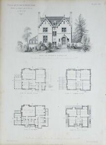 1868-Architektonisch-Aufdruck-Villa-bei-Dulwich-Holz-Park-Banks-amp-Barry-Eingang