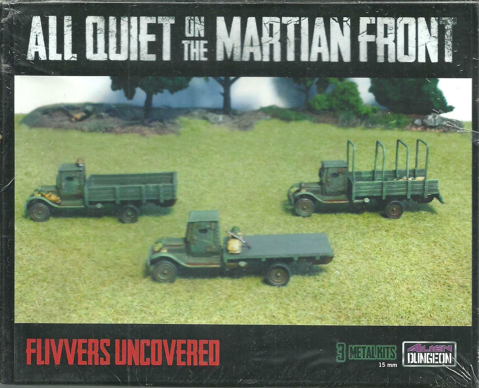 US027 Flivvers Uncovered for AQMF, Alien Dungeon, New, Sealed