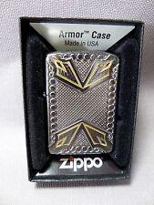 """Zippo  """"DAGGER""""  - ARMOR CASE -  NEU & ovp - 345"""