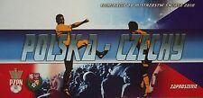 VIP TICKET 11.10.2008 Polska Polen - Tschechien Czech Republic