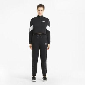Puma Women's Rebel Half Zip Crewneck Sweatshirt