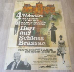 A1 Filmplakat - HERR AUF SCHLOSS BRASSAC - JEAN GABIN ,L PALMER ,M MERCIER