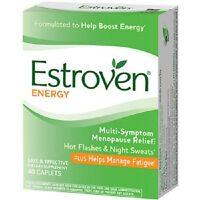 Estroven Plus Energy Capsules, 40 Ct. (3 Pack)