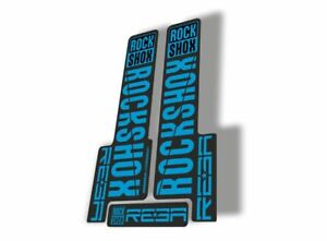Rock Shox RS1 2018 Fork Decal Mountain Bike Cycling Sticker Adhesive Oil Slick