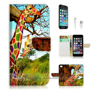 For-iPhone-6-Plus-iPhone-6S-Plus-Case-Cover-Colourful-Giraffe-P1507