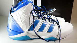 the best attitude 90d60 e5b7f Image is loading ADIDAS-AdiPOWER-HOWARD-2-HOME-G48693-White-Royal-