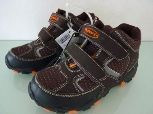 Kinder Schuhe Sportschuhe Halbschuhe Sneaker Größe 31 braun