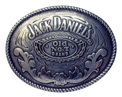 Jack Daniels Rodeo Oval Belt Buckle