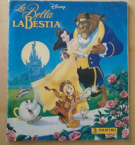 ALBUM-PANINI-LA-BELLA-E-LA-BESTIA-1992-COMPLETO