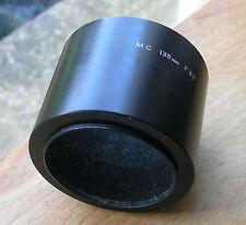 genuine minolta 135mm MC  telephoto Lens hood  52mm screw in