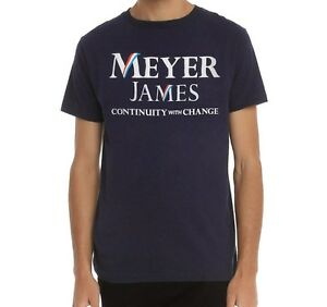 HBO's Veep TV Show MEYER JAMES Campaign T-Shirt NEW Licensed & Official