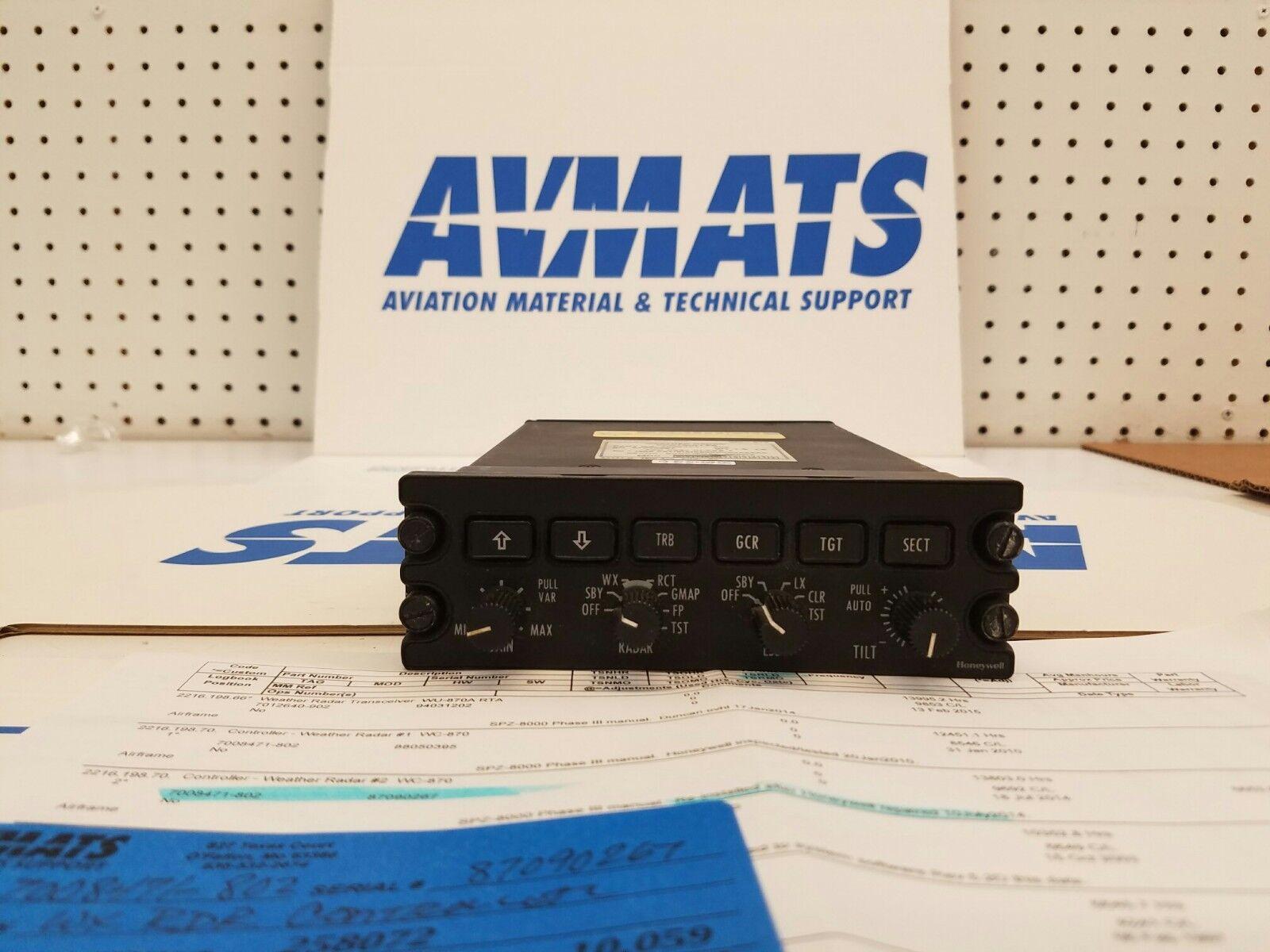 Honeywell p/n 7008471-802 WC-870 WEATHER RADAR CONTROLLER | eBay