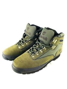 Timberland Hiking Boots Men's 10 Army
