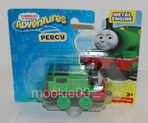 Thomas-amp-Friends-Adventures-PERCY-Metal-Train-Engine-Fisher-Price-DXR80