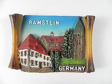Ramstein palatinat magnétique relief 7,5cm Germany Allemagne poly souvenir