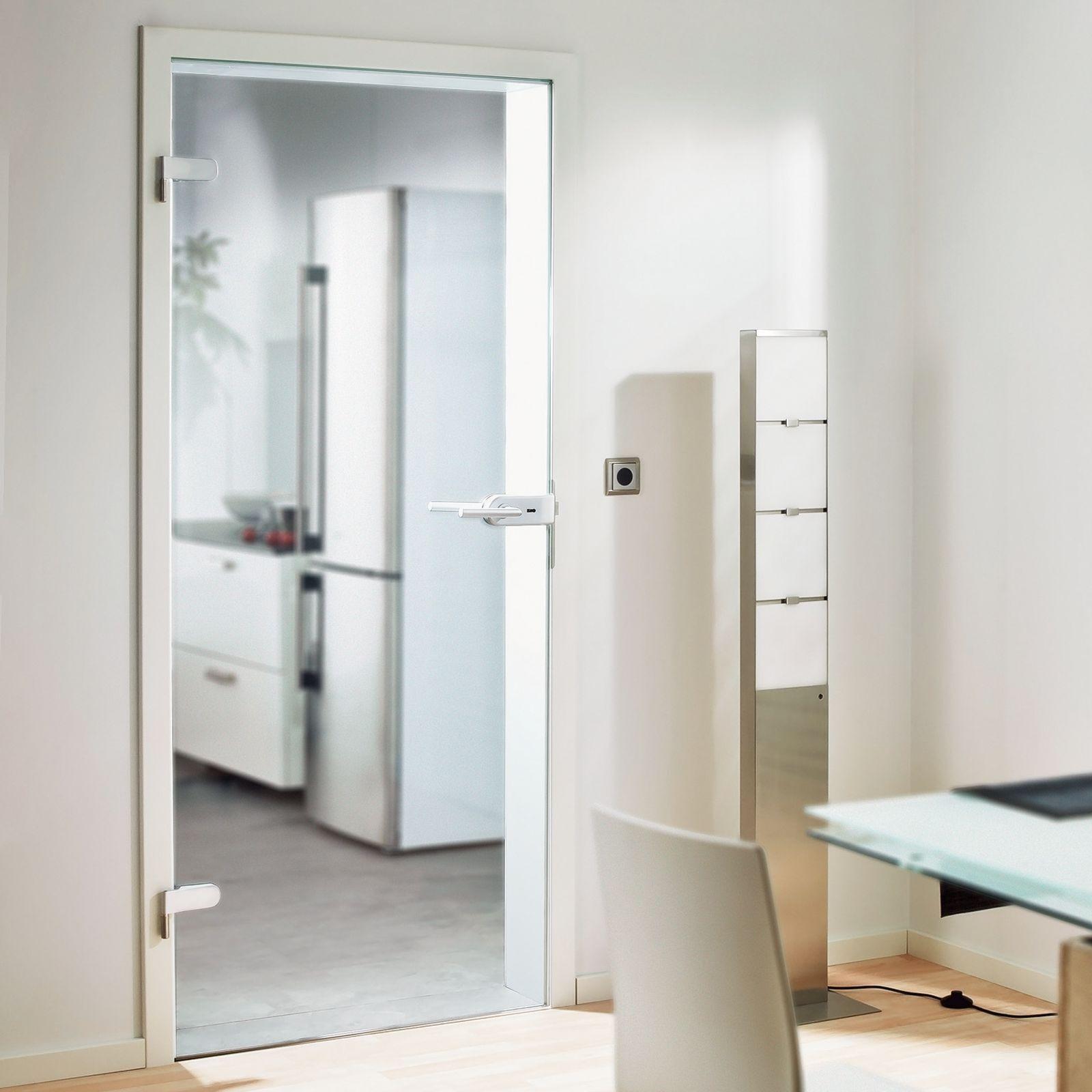 Glastür Zimmertür Raumtrenner Glas Innentür Tür aus Sicherheitsglas