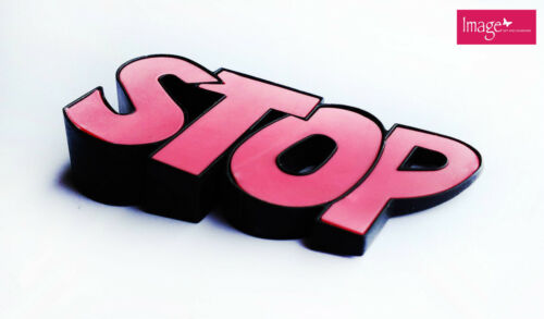 "1pc Cartoon ""STOP"" Rubber Door Stop Very Adorable Door Stopper Comes in 3 Colors"