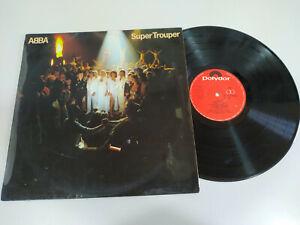 "Abba Super Trouper Portugal Edition 1980 - LP Vinyl 12 "" VG/VG 2T"