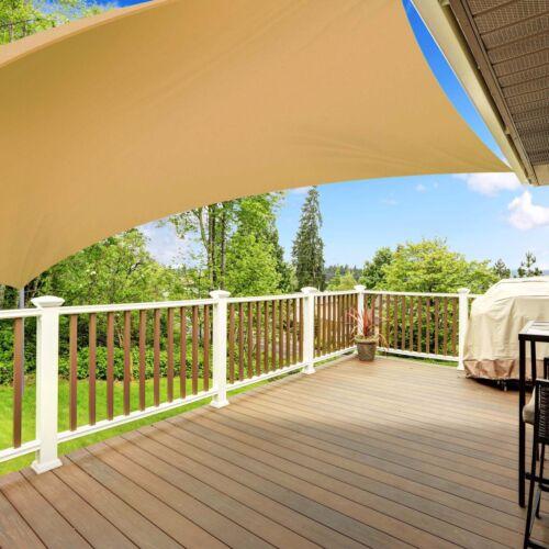 Sonnenschutz Sonnensegel Wasserabweisend Sichtschutz Regenschutz Windschutz Sand