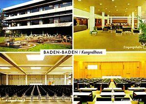 Kongreßhaus ansichtskarte Attraktives Aussehen Baden-baden