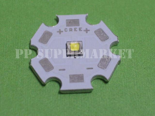 Cree XLamp XPG2 XP-G2 Cool White 6000K LED Light 1W~5W on 20mm Star base