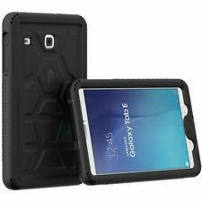 Poetic Turtleskin Series Bumper Protection Case for Galaxy Tab E 9.6 Black