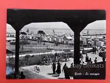 GRADO la spiaggia animata Gorizia vecchia cartolina